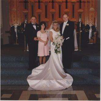 Jamie and Mark Richardson wedding, 1998