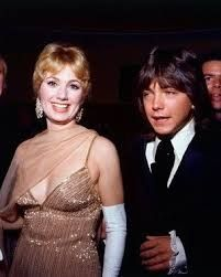 David Cassidy and Shirley Jones