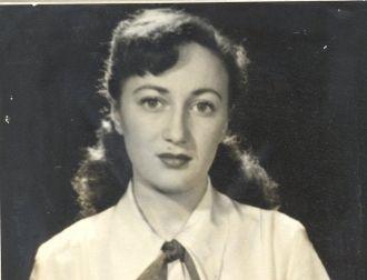 Leonore Marie (Greenberg) Farkash, 1940's