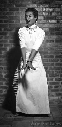 Maya Angelou, poet, author, singer
