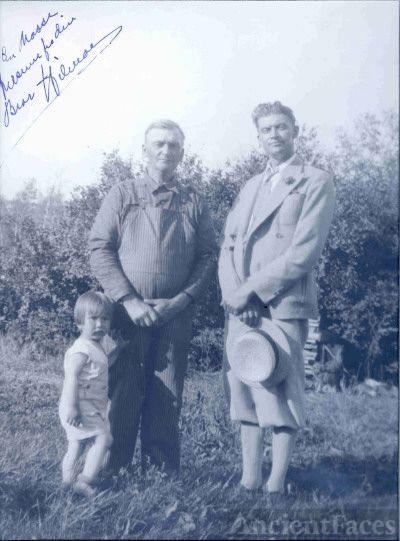 Grandpa, Great Uncle Hilmar Ronning Andersen