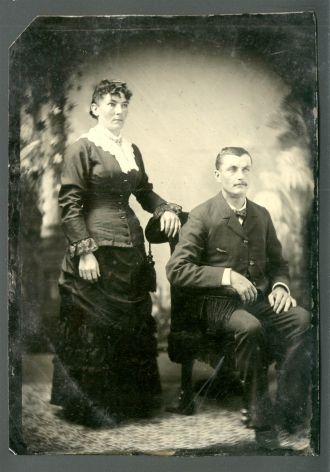 Wilhelmina Gamroth & Frederick Froney, OH 1880