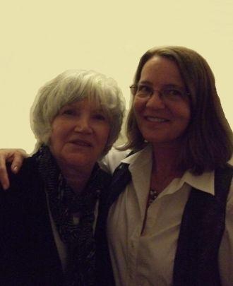 Molly Molloy and Jennie Day.