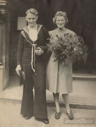 John Thomas Savage and bride
