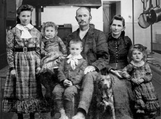 The Family of Richard Tilton Rose
