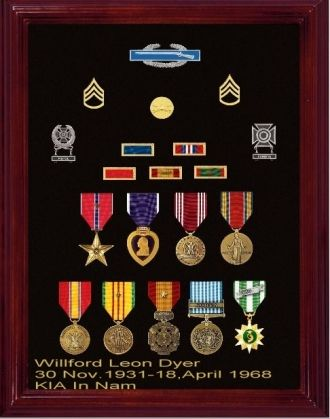 Willford Leon Dyer Medals, TN 1968