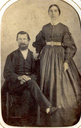 James & Amanda C. (George)  McNeil, Georgia
