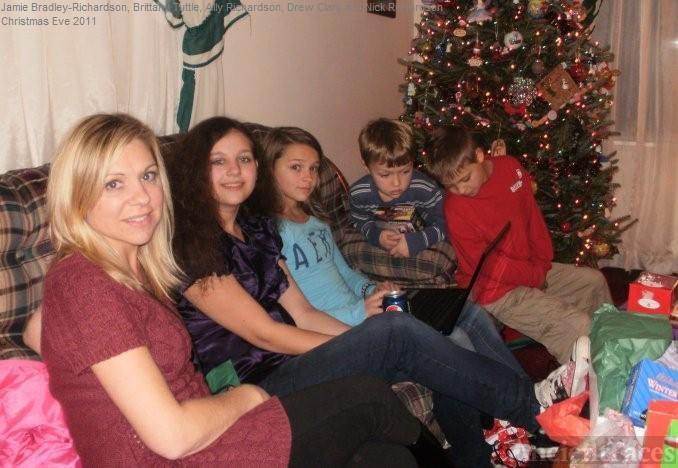 Bradley, Tuttle, Clark and Richardson Family