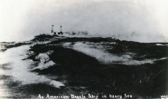American Battleship, Heavy Sea