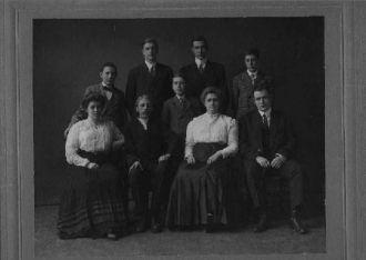 Walter/Clara Coleman Family (c1910)