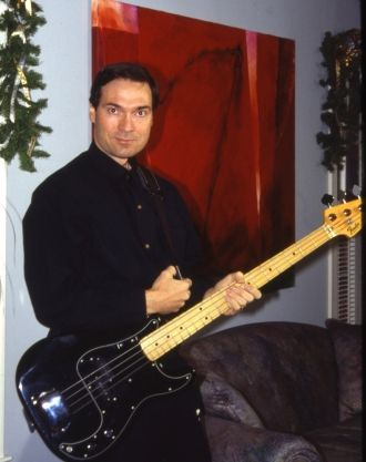 Bill with 1978 Fender Precision Bass