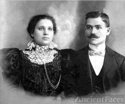 Pesha (Rasnick) & Barnett Fine, New York 1898