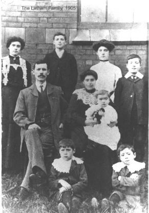 John & Selina Latham family