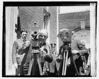 Warren G. Harding, movie operator