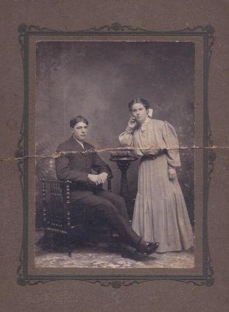 Charles and Viola Harrison Cline