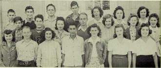 Fowler High School 1943 Sophomore Class