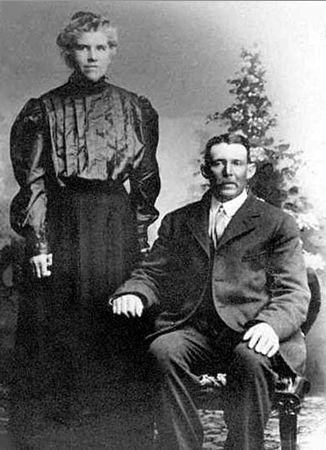 John & Maria (Bassett) Holton, Wisconsin