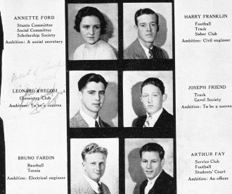 1932 Seniors, San Francisco