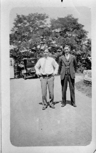 Eugene V. and Arthur Lavallee