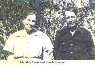 Ida Mae Crowe and Enoch Stamper
