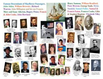 John Alden & Mayflower Cousins