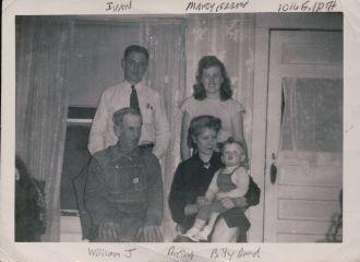 William J. Jordan and family