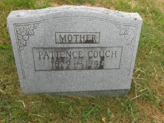 Grave of Patience J. Couch