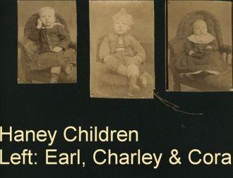 Earl, Charley, & Cora Haney