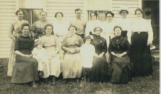 John & Elizabeth Long friends, Indiana 1915