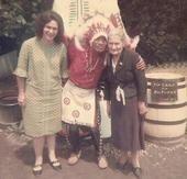 Great grandma and grandma Collins