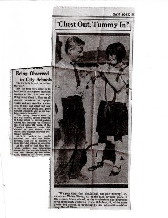 Oscar F. Schubert Jr. newspaper