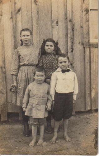 Siblings Annie, Bessie, Theo, & Jeptha
