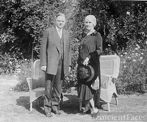 Pres. & Mrs. Herbert Hoover