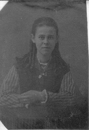 Young woman, Northern Indiana