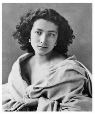 A photo of Sarah Bernhardt