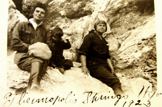 Unknown Family at Thermopolis, Wyoming