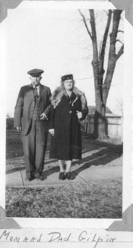 Grandpa & Grandma Gilpin, IL
