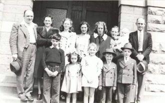 Rhoda Beach Aldred descendants