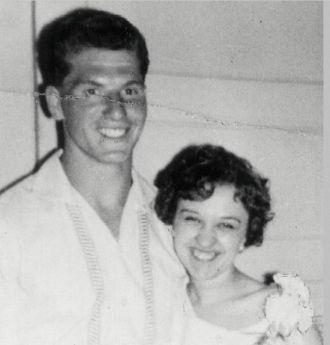 Marriage of Franz Gierl & Verna de Vylder 1960