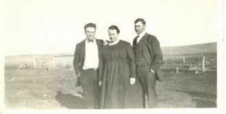Mark Scobell, Myrtle Scobell, and George Edward Scobell