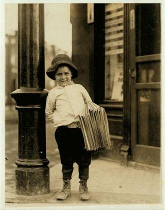 Newsboy. Little Fattie.