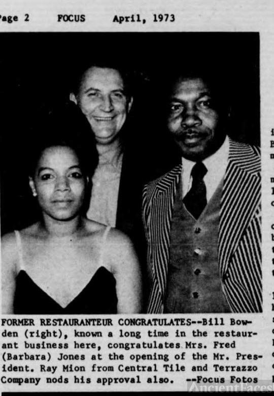 Remo Mion, Bill Blowden, Barbara Jones