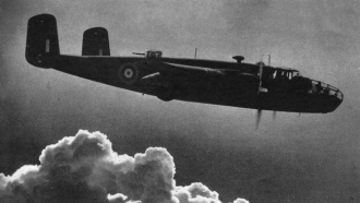 Harold Nigel Egerton Salmon's airplane.