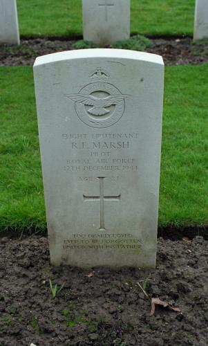 Roy Frederick Marsh Gravesite