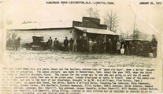 Sherrill Brothers Store, Tennessee 1923