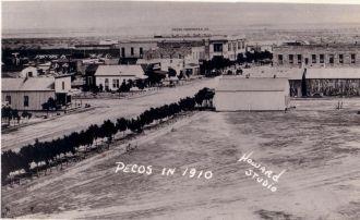 Pecos, Texas in 1910
