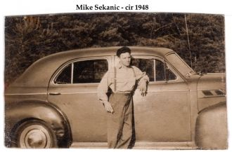 A photo of Mike Sekanic
