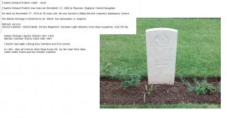 Charles Edward Probett Gravesite