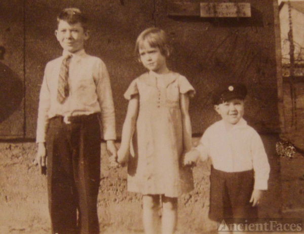 Uncle, mother, uncle mid 30s
