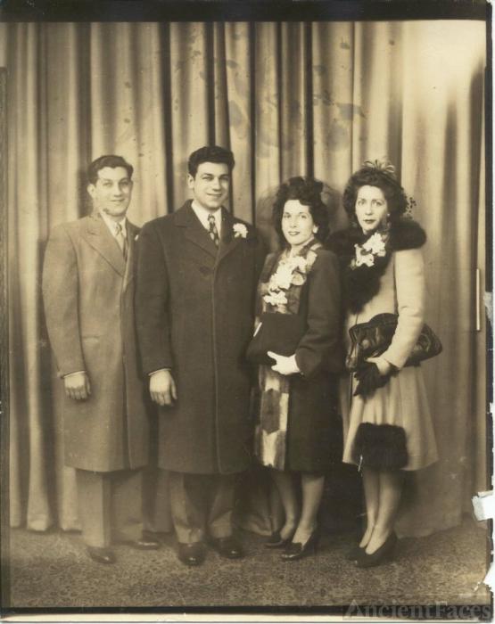 Paul L. Bianco married Claire U. Arnett 1941
